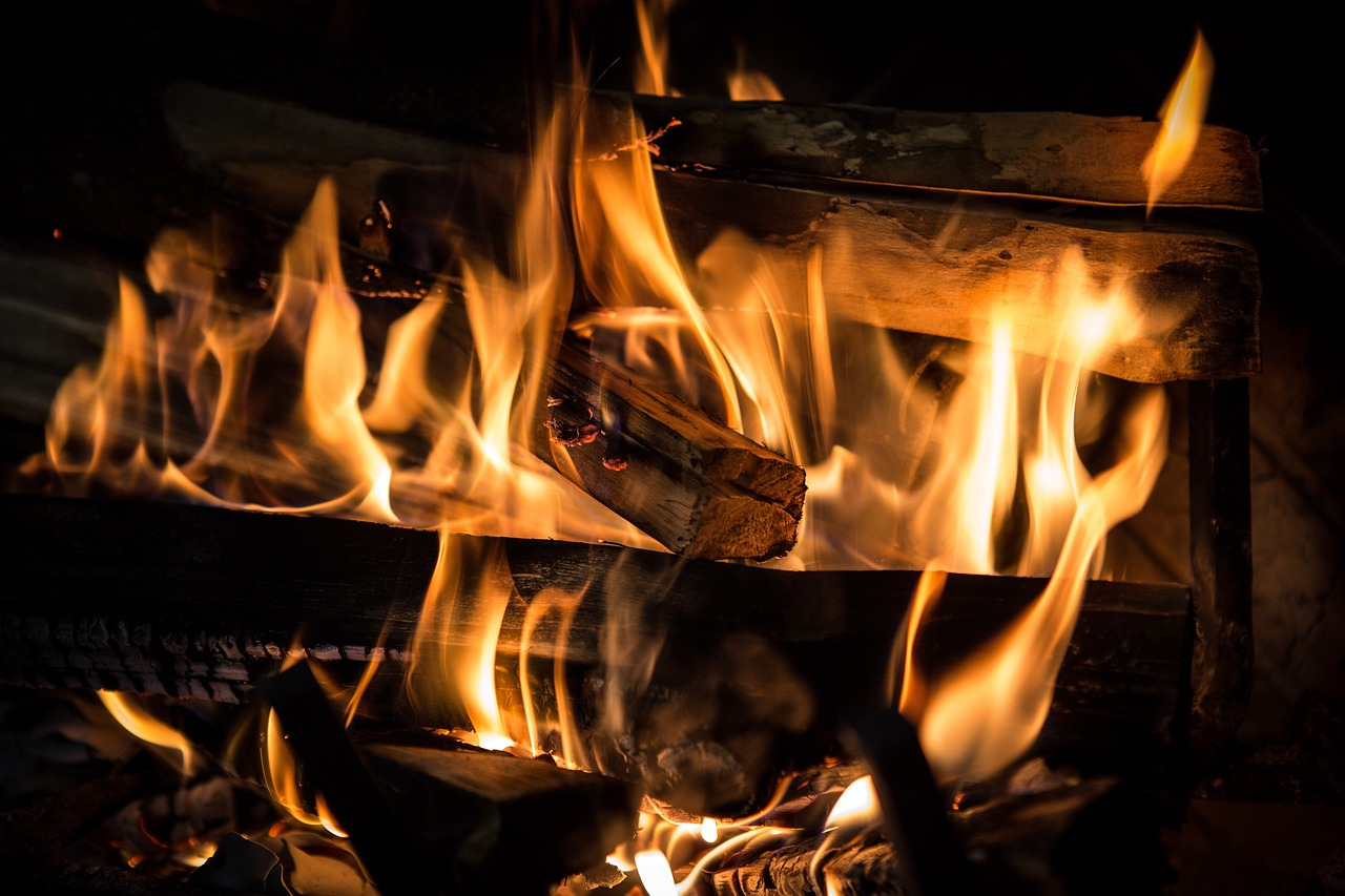 A Flame of Fire- Inspirational Poem on Fire