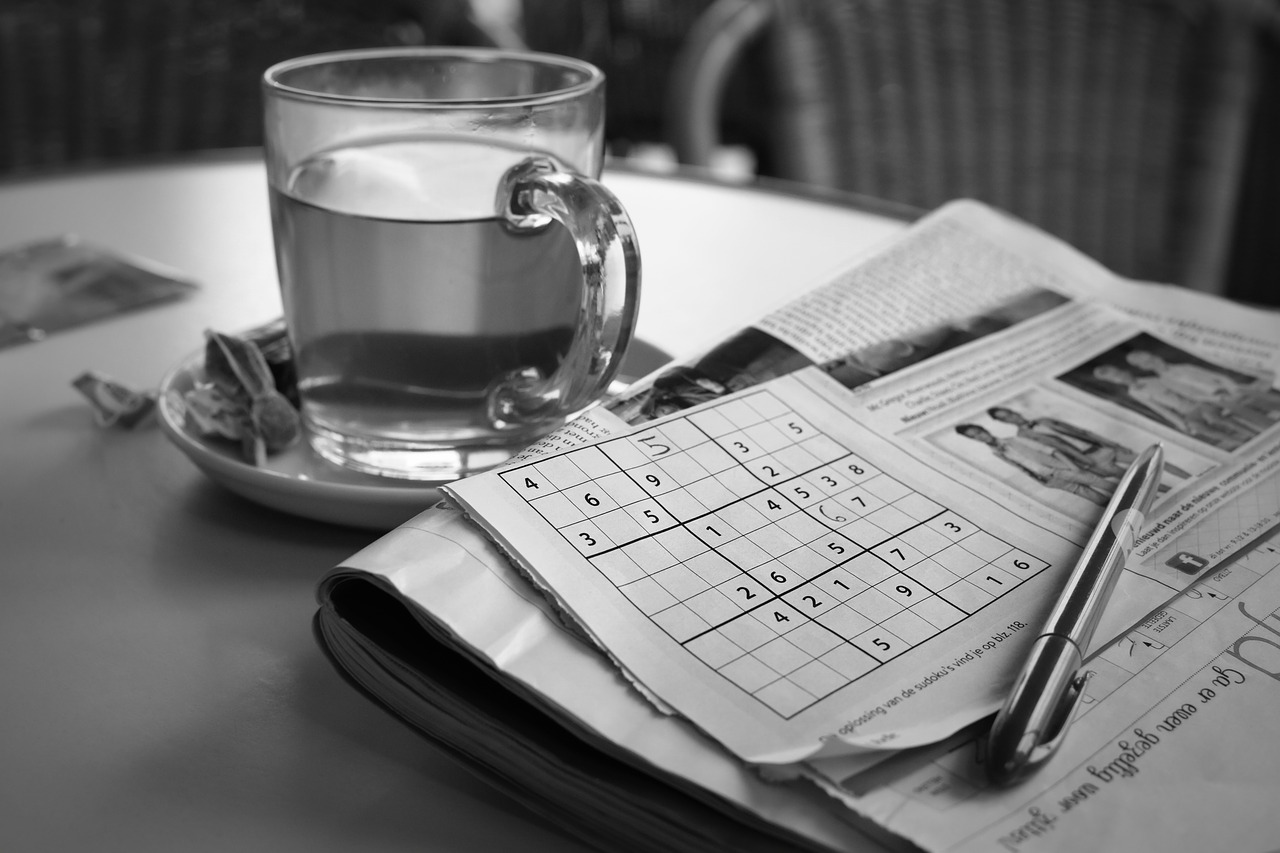 Sudoku Man- Poem on Man, Poem on Old Man dealing with Loneliness