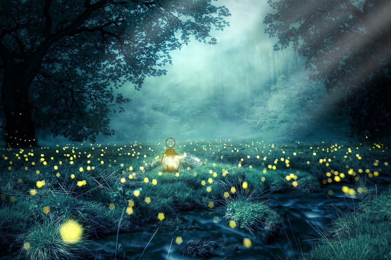 The Dance of Fireflies- Nature Poetry, Love Poem