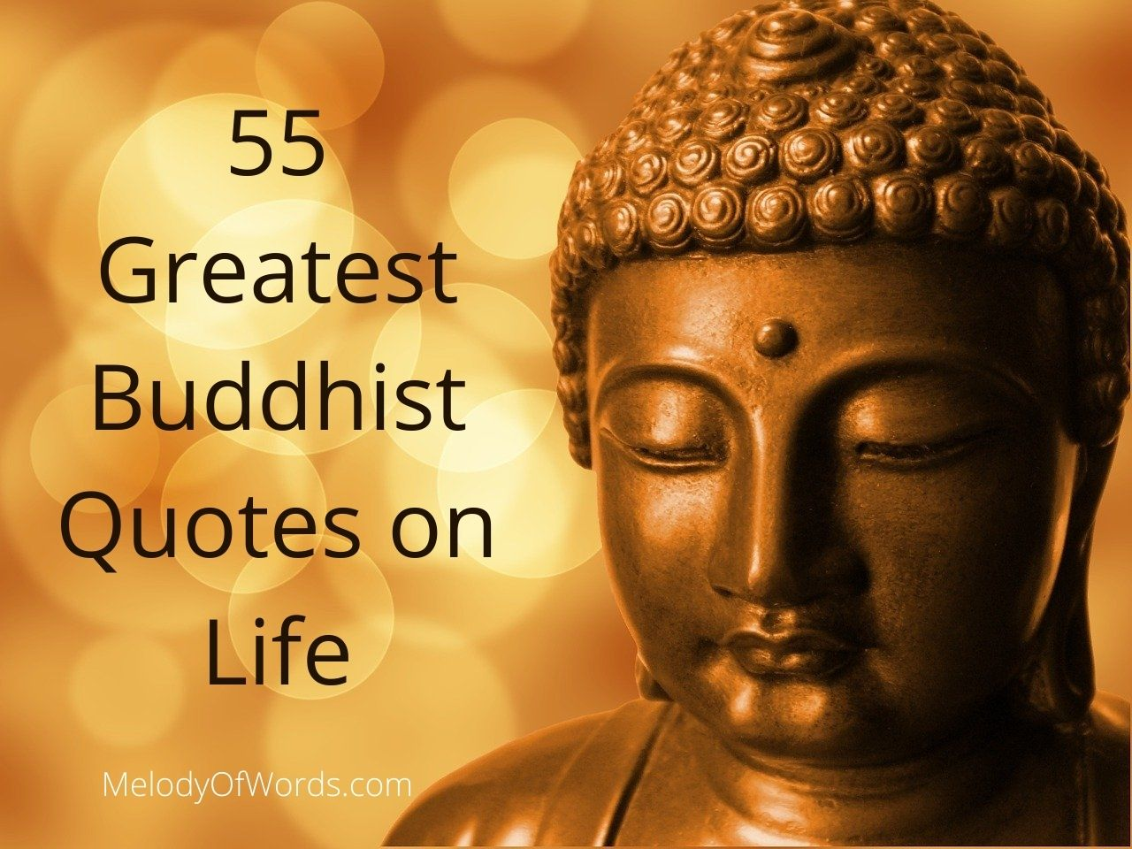 55 Greatest Buddhist Quotes on Life