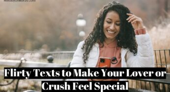 80 Flirty Texts to Make Your Lover or Crush Feel Special